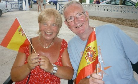 Flying the flag for Spain