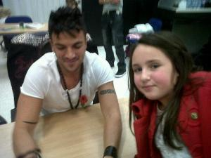 daisy with peter andre